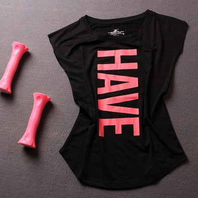 Fitness T-shirt - Have fun - 4 colors