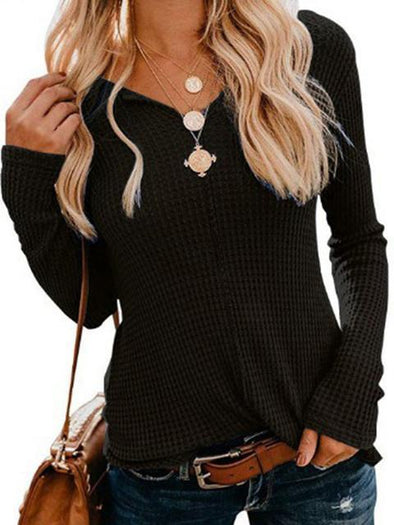 Vintage V Neck Slim Regular Sweater