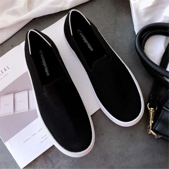 Women's Loafers flat Shoes Zapato Round  Ballerine Femme