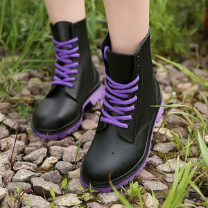 Rainboots Waterproof Shoes Ankle Boots
