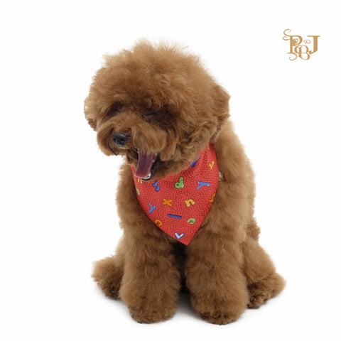 P. Bee and Joanne - Rufus Slip-On Bandana - Red - img 1