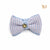 P. Bee & Joanne - Oxford Bow Tie Collar - Pastel Blue with Pastel Pink Checks - img 3
