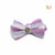 P. Bee & Joanne - Zane Bow Tie Collar - Tri-coloured Aqua, Electric Blue and White - img 3
