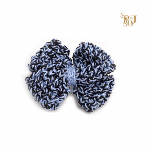 P. Bee and Joanne - Georginia Hair Clip - Monotone Black and Blue - img 1