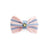 P. Bee & Joanne - Twyford Bow Tie Collar - Pastel Pink and Pastel Blue Stripes - img 1