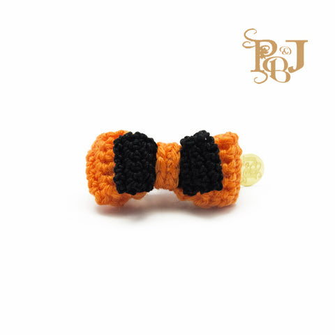 P. Bee & Joanne - Amélie Hair Clip - Black Orange - img 1