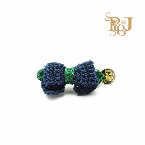 P. Bee & Joanne - Sandrine Hair Clip - Navy and Emerald - img 1