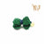 P. Bee & Joanne - Sandrine Hair Clip - Emerald and Navy - img 1