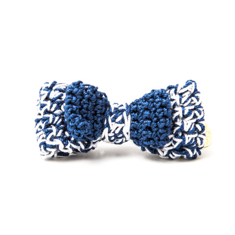 P. Bee & Joanne - Audrey Hair Clip - Navy White - img 1