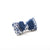 P. Bee & Joanne - Audrey Hair Clip - Navy White - img 3