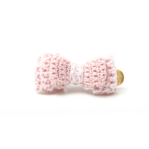 P. Bee & Joanne - Audrey Hair Clip - Pink White - img 1