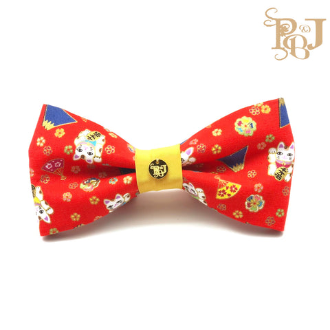 P. Bee & Joanne - Chiharu Classic Snap-on Bow Tie