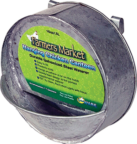 Farmers Market Hanging Chicken Waterer