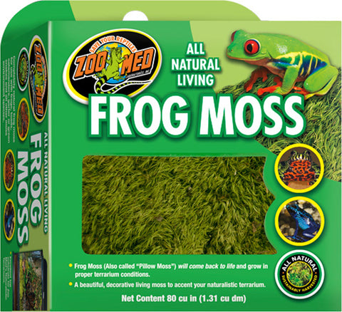 All Natural Living Frog Moss