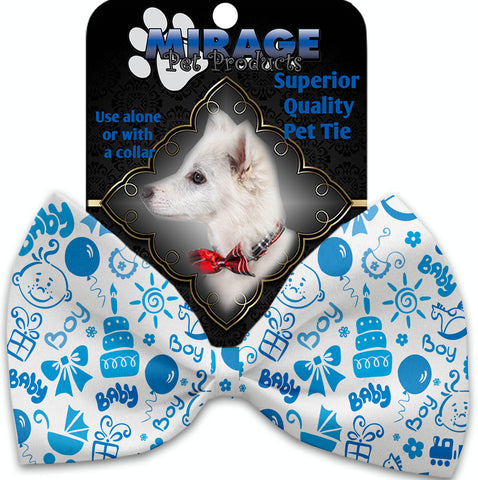 Baby Boy Pet Bow Tie Collar Accessory With Velcro