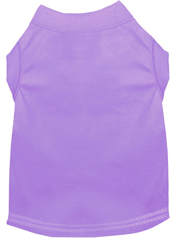 Plain Pet Shirts Lavender