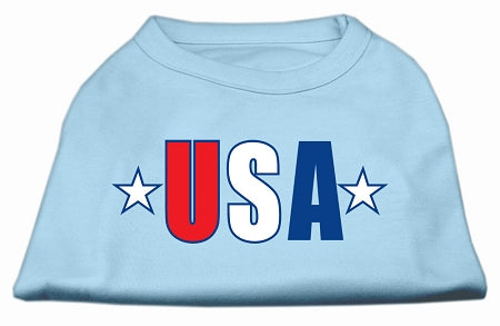 Usa Star Screen Print Shirt
