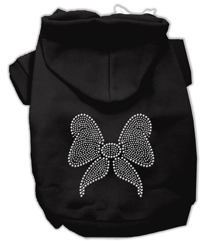 Rhinestone Bow Hoodies