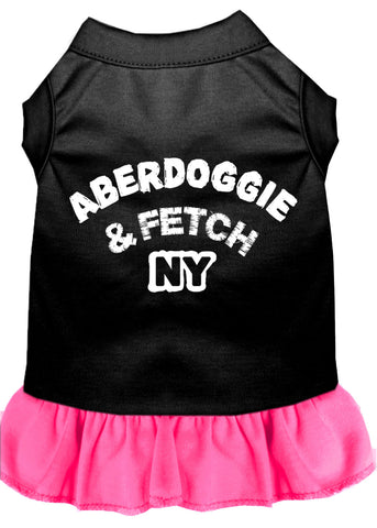 Aberdoggie Ny Screen Print Dress