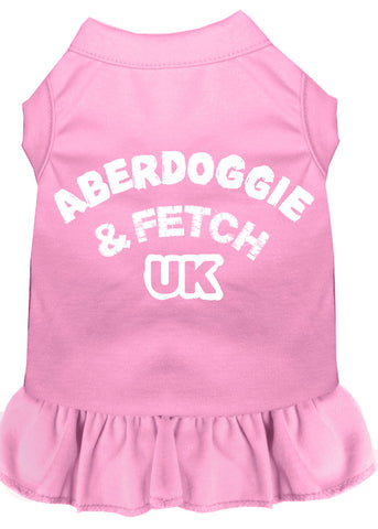 Aberdoggie Uk Screen Print Dress