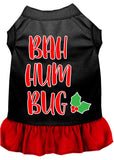 Bah Humbug Screen Print Dog Dress
