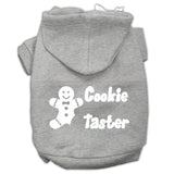 Cookie Taster Screen Print Pet Hoodies Size