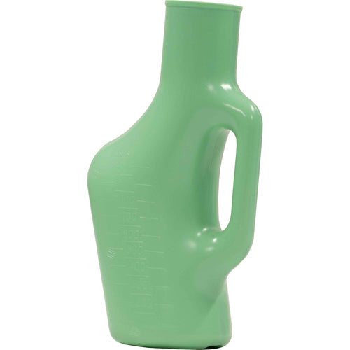 Green Male Urinal Bottle