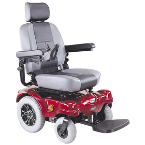 Power Chair Red