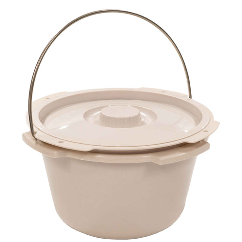 Commode Bucket with Lid and Splash Guard