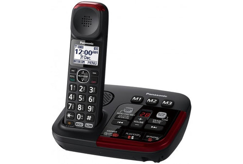 Panasonic Amplified Digital Cordless Phone with Answer Machine