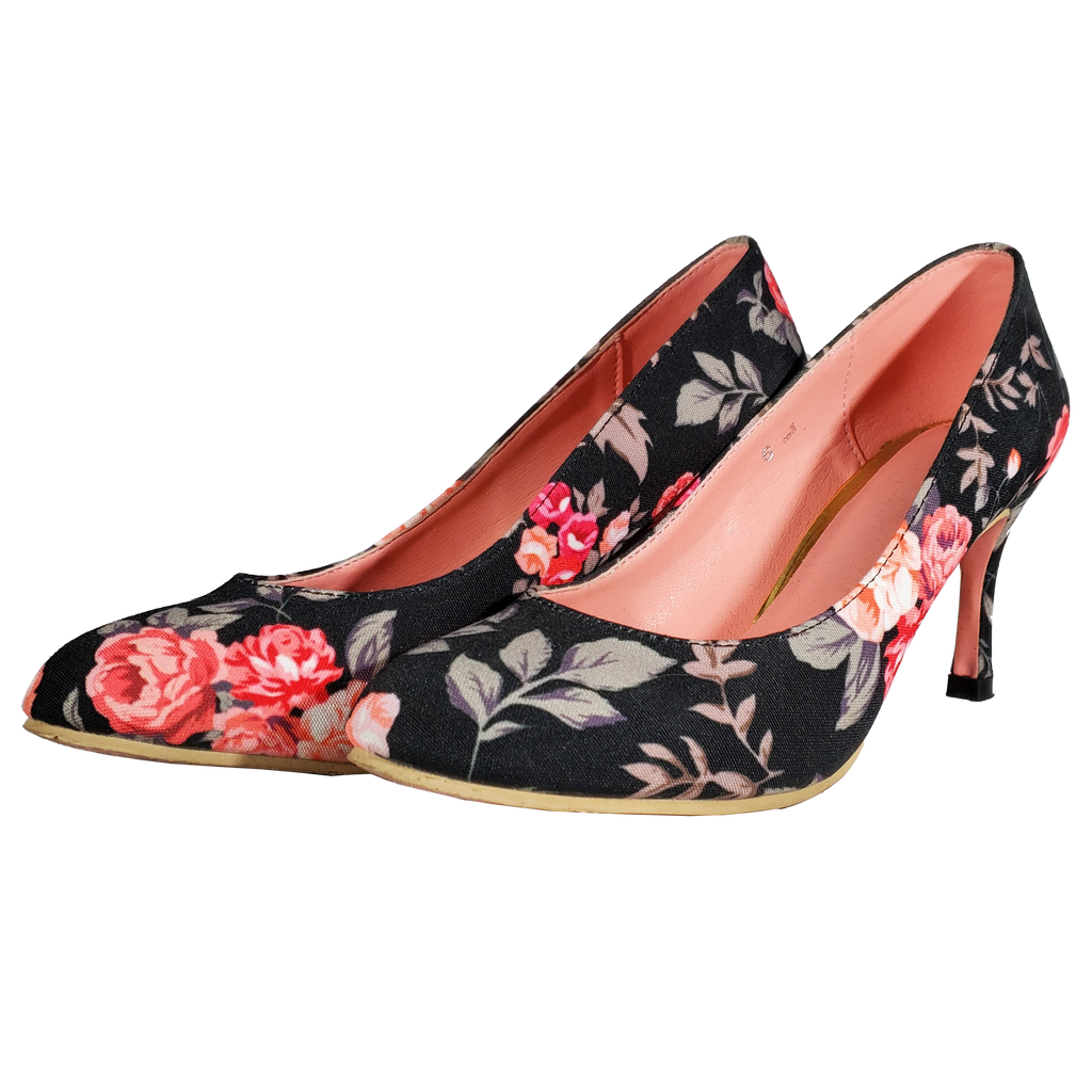 Blossoms Pumps