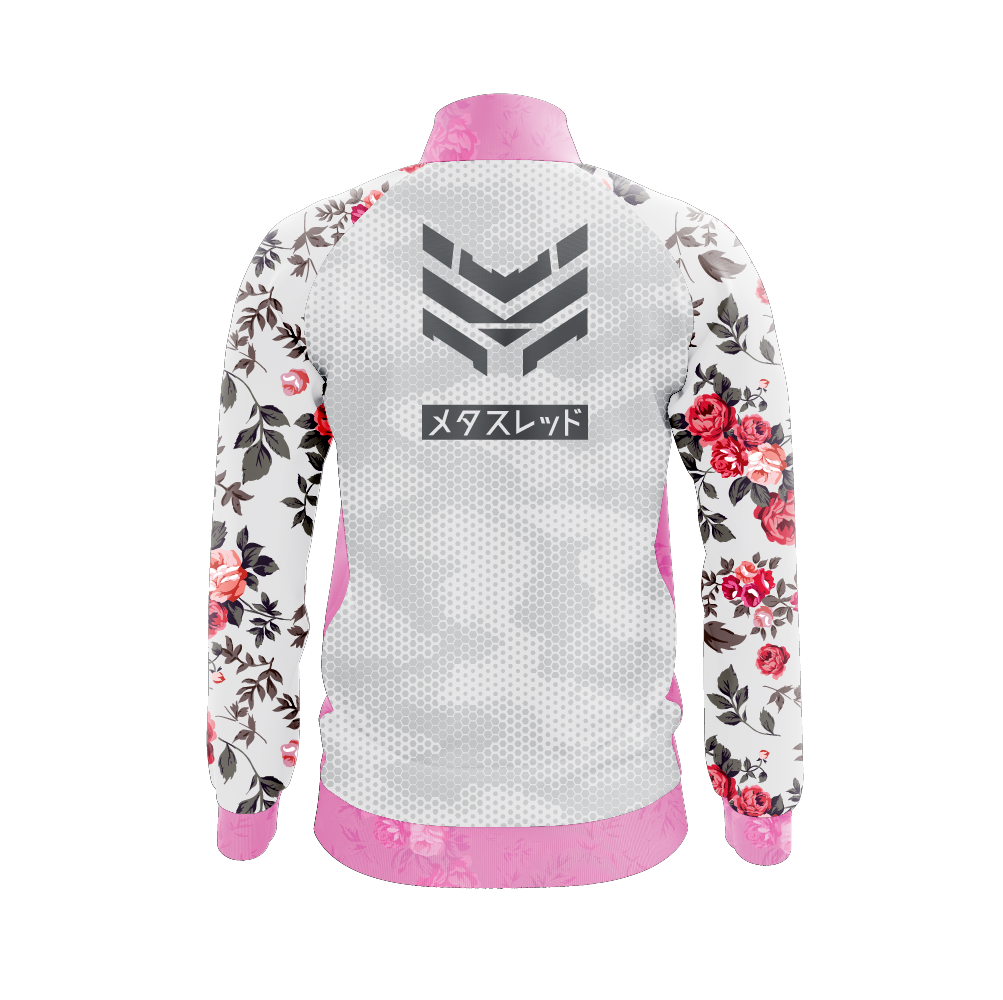 Snow Blossom Track Jacket