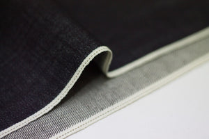 DEEP INDIGO DOTTED BRONZE SELVEDGE * - Nama Denim