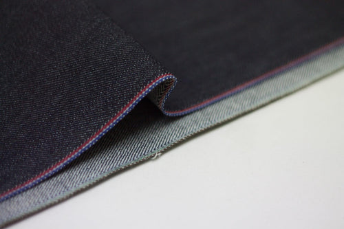 TWO TONE STRETCH SELVEDGE DENIM *