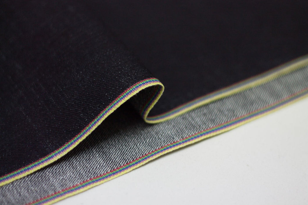 DEEP INDIGO RAINBOW STRETCH SELVEDGE DENIM - Nama Denim