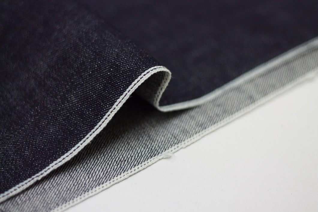 SLUBBY INDIGO SELVEDGE DENIM