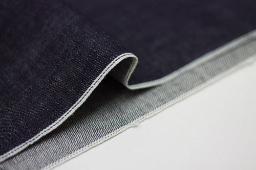 SLUBBY INDIGO SELVEDGE DENIM *