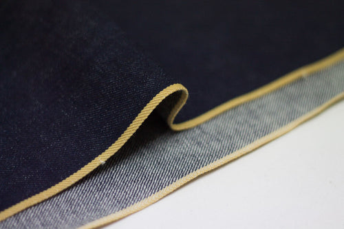 SATURATED INDIGO GOLDEN SELVEDGE *