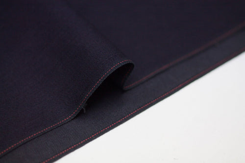 BLUE ROYAL INDIGO x BLACK SELVEDGE DENIM *