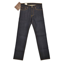Load image into Gallery viewer, NST124 - DEEP BLUE OMBRÉ CAST DENIM - Nama Denim