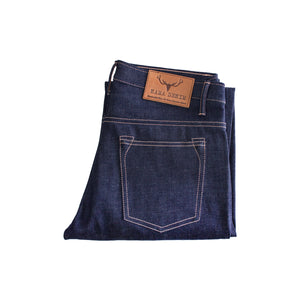 NST131 - MEDIUM BLUE DENIM LIVIDUS SELVEDGE