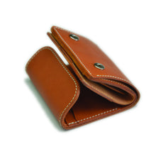 Load image into Gallery viewer, Compact Wallet with Coin Holder (Tanned)