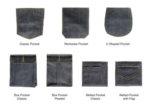 CLASSIC BLUE SELVEDGE DENIM