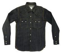 Load image into Gallery viewer, DENIM WESTERN SHIRT