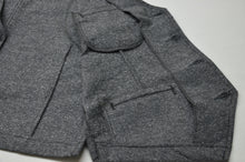 Load image into Gallery viewer, BLACK TWEED WORK VEST