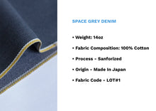 Load image into Gallery viewer, SPACE GREY DENIM *