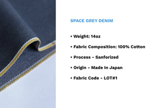 SPACE GREY DENIM - Nama Denim