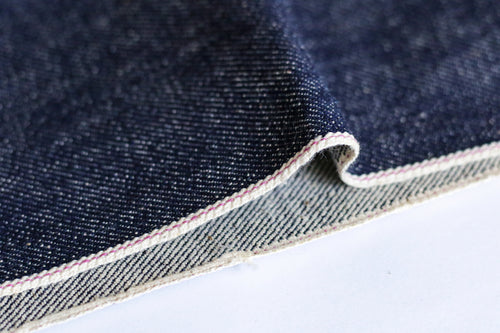 LOW TENSION SLUBBY, NEPPY AND HEAVY SELVEDGE DENIM *