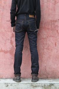 NP002 - BROWN WEFT DENIM