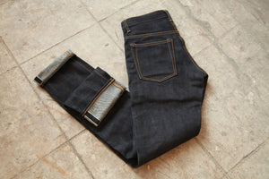 NP003 - HEAVYWEIGHT DEEP INDIGO DENIM - Nama Denim